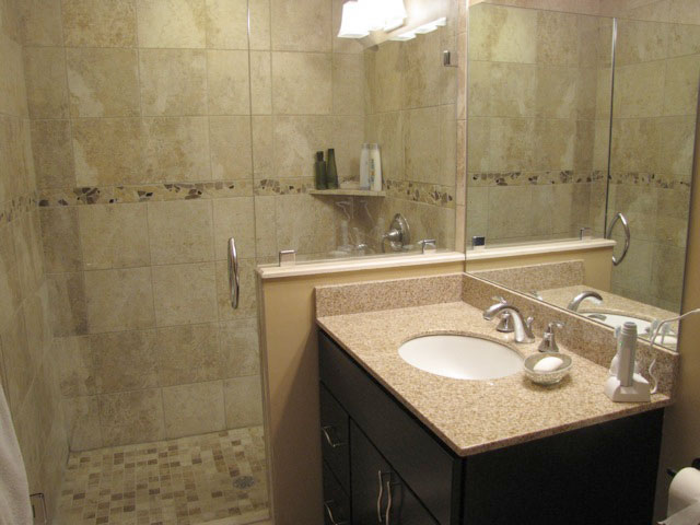 Bathroom Renovation by American BathWorks - After Pictures